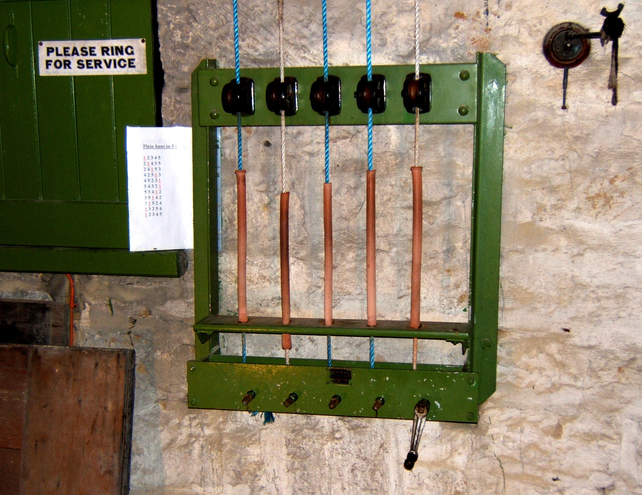 a description of the bells and ellercombe frame in st mary u0027s goathland